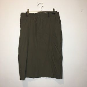 Gucci Forest Green Pencil Skirt 42 6